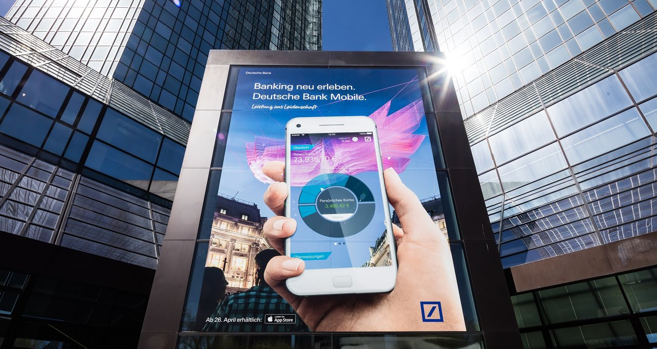Deutsche Bank: CRM Implemetierung & Deliverability