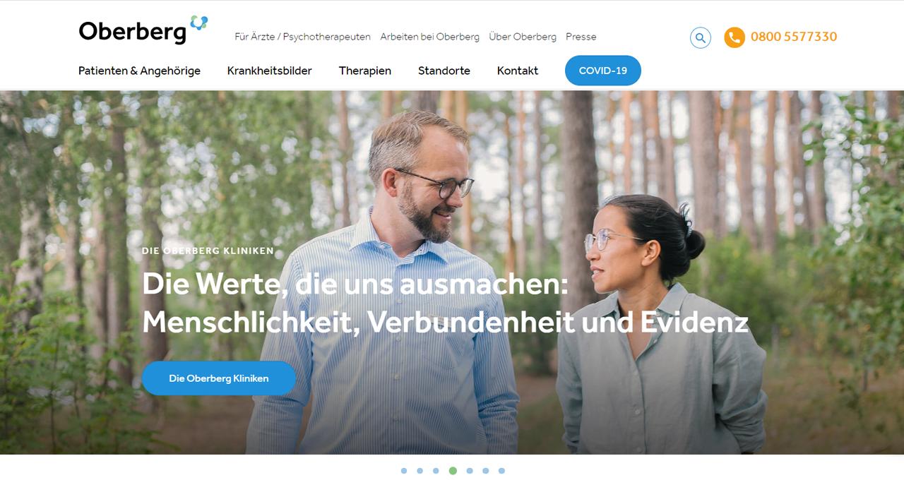 Oberberg: Vollständiger Markenrelaunch inkl. Digitalstrategie
